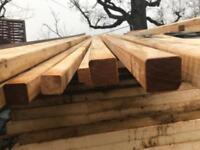Brand new 2x2 timber 4.8m lengths