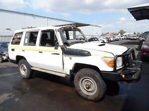 2011 TOYOTA 76 SERIES LAND CRUISER 1VD V8 WRECKING Royal Park Charles Sturt Area Preview