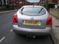 Nissan primera with new MOT