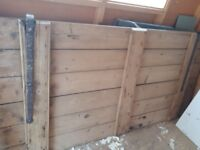 Large traditional pine door, was from a stable.