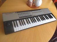 Novation SL MKII 49-key MIDI controller, usb, semi-weighted