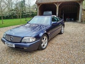Mercedes Benz SL 500 Auto 1995 2 owners full service history MOT and new front tyres