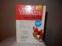 Complete German Learn German with Teach Yourself by Schenke Heiner