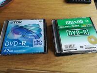 FREE 13 empty dvd-r's