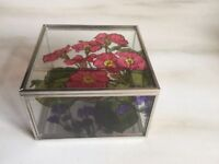 Hand Painted Mirror Box