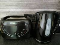 Kettle, toaster and accessories