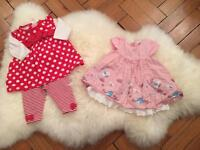 Baby girls clothes, 3-6 months