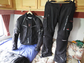 Motorcycle Clothing - Motorcycle Jacket & Trousers - Wolf Titanium Series - Waterproof