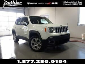 2017 Jeep Renegade Limited | LEATHER | REAR CAMERA | UCONNECT |