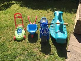 Children's outdoor toys