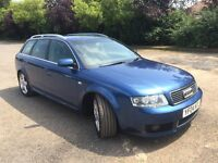 Audi A4 Avant 2.5tdi Sport Auto 2004 130k miles Full service history. All leather. Lovely condition