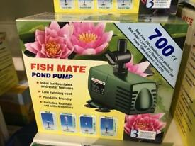 Fish mate 700 pond pump