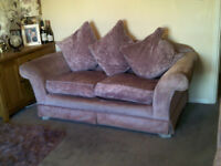 2 seater and 3 seaterquality sofas for sale -Alstons in Amethyst