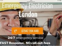 24 hour electrician london