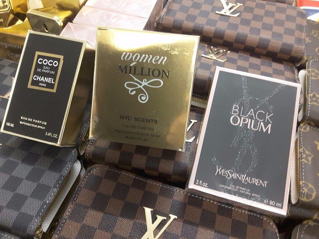 Ladies and gentlemans fragrances