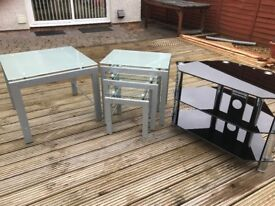 TV Stand and Tables