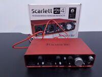 Focusrite Scarlett 2i4