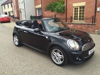 MINI CONVERTIBLE 1.6 ONE (SALT PACK) 2DR 2011! 12 MONTHS MOT! SERVICE HISTORY! STUNNING CAR!!!