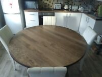IKEA Dining table & Next Chairs