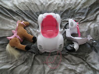 Baby Born interactive bundle: Car, scooter and horse. L14 pickup