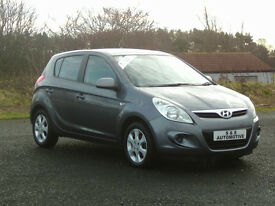 2010 HYUNDAI i20 COMFORT (F-S-H) 12 MONTHS M.O.T 6 MONTHS WARRANTY (FINANCE AVAILABLE)