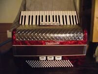 'World Master' Accordion for sale.