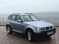 *** BMW X3 diesel 55 plate £2995 swap px ***