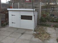 Dog kennel cat pen/rabbit 4x3x3 feet high upvc easy clean cladding