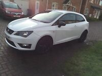 Seat Ibiza FR black low millig 64 plate mint condtion
