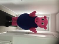 For Sale new Peppa and George adult fancy dress mascots