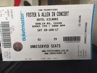 Foster & Allen Country Music concert tickets