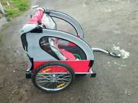 Bicycle trailer/pushchair for sale in excellent condition