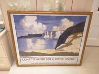 Print -Paul Henry - Come to Ulster for a Better Holiday