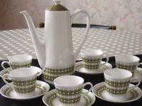 """""""Wedgewood """" Bone china Coffee set"""