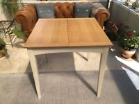 John Lewis Extending Dining table & 2 chairs