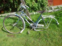 Vintage Ladies Hercules bike