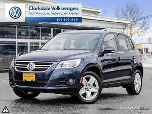 2011 TIGUAN COMFORTLINE 2.0T 6-SPEED MANUAL