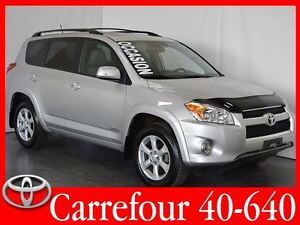 2012 Toyota RAV4 Limited 4WD Cuir+Bluetooth+Navigation+Toit Ouvr