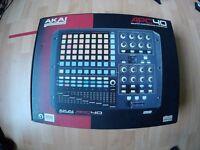 Akai APC40 Ableton music dj perfomace controller
