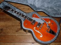 Gretsch G5420T hollowbody 2014 with Bigsby and Gretsch hard case