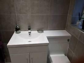 Bathroom vanity unit sink