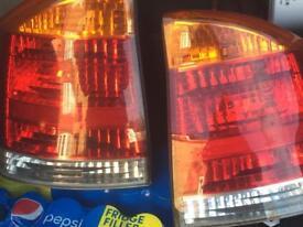 Vectra rear lights