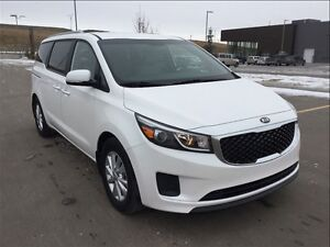 2016 Kia Sedona LX + Heated seats, push button Start power doors