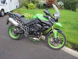 Triumph Tiger 800,2013, one 66yr old owner, excellent condition