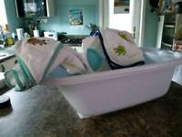 Mamma's & Pappas baby bath bundle