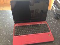 HP pavillion g6 laptop (red)