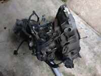 Fiat Punto 1.3 multijet diesel 2005 car engine