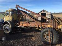 Fordson thames e4 v8 petrol timber tractor