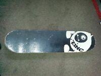 Zinc skateboard