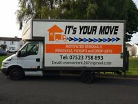 REMOVALS YOUR MOVE FOR HIRE